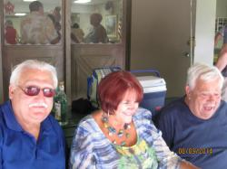 Gus, Shari, and Jim