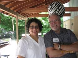 Committee Member Yvonne Jackson Brooks and Ron Farrar