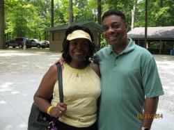 Faye Lester Dortch and husband